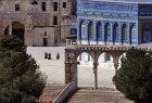 Israel, Jerusalem, Temple Mount area from west