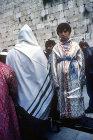 Israel, Jerusalem, Western Wall, Moroccan Bar Mitzvah ceremony