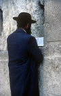 Israel, Jerusalem, Jew at the Western Wall