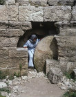 Israel, the best preserved tomb with a rolling stone