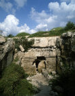 Israel, tomb with rolling stone similar to Jesus