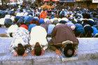 Israel, Jerusalem, Sheikh Mohammed Austa leads Palestinians in Friday Ramadan prayers