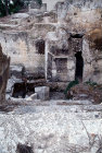 Israel, Jerusalem, St Peter in Gallicantu, ruins of Caiaphas