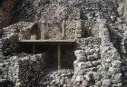 Israelite houses above and Canaanite houses below, excavations, City of David, Jerusalem, Israel