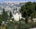 Israel, Jerusalem, Dominus Flevit Chapel on the Mount of Olives