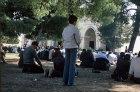 Israel, Jerusalem, muslims prepare for Friday prayer