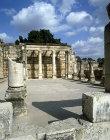 Synagogue, third or fourth century, Capernaum, Israel