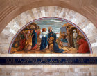 Israel, Bethany, mosaic of the Raising of Lazarus in the Church of St Lazarus built in 1965