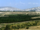 Israel, Jordan valley and Gilead mountains