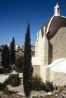 Israel, Jerusalem, Dominus Flevit with Dome of the Rock behind