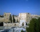 Israel, Jerusalem, the citadel, north west tower and David