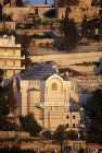 Israel, Jerusalem, sunrise St Peters in Gallicantu