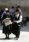 Israel, Jerusalew, Orthodox Jews at the Western Wall