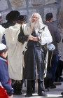 Israel, Jerusalem, Orthodox Jew at the Western Wall
