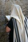 Israel, Jerusalem, a Sephardic Jew at the Western Wall