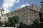 Israel, Hebron, Haram el Khalil, shrine over cave of Machpelah