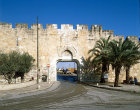 Israel, Jerusalem, the Dung Gate leading to the Western Wall