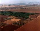 Jezreel valley, aerial view, Israel