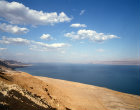 Israel,  Judean Shore of Dead Sea and the Hills of Moab