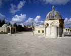 Temple area, detail of Dome of the Ascension of the prophet Muhammed, Ummayad or Abbasid architecture, Jerusalem, Israel