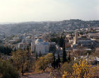 Israel, Jerusalem,  a view over Bethany