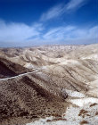 Israel, the Judean Hills looking west towards Jerusalem