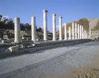 Columns lining Palladius Street, 4th century, Beth Shean, Israel