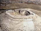 Herodium, Herodion (Har Hordos), aerial view from west, Israel