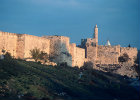 Israel, Jerusalem, the Golden Gate and City Wall