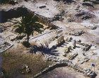 Megiddo, aerial view of excavations (Ahab