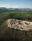 Israel, Hazor Tel, aerial view of Israelite citadel, eighth to ninth century BC