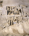 Israel, Qumran, aerial view of Essene settlement, 1st century BC- 1st century AD