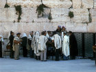 Israel, Jerusalem, Orthodox Jews by the Western Wall