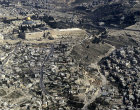 Israel, Jerusalem, aerial view from the south