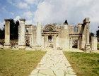 Israel, Baram, exterior of 4th century CE synagogue