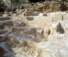 Stone quarry dating from the time of the second temple, excavations, Jerusalem, Israel