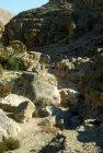 Israel, gorge in Wadi Qilt