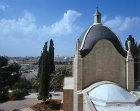 Israel, Jerusalem, the Mount of Olives, Church of Dominus Flevit, translated as Jesus Wept