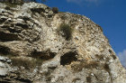 Skull Hill seen from the Garden Tomb, Israel