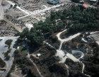 Israel, Sepphoris, (Zippori) near Nazareth, aerial view