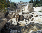 Israel, Jerusalem, ruins of St Annes, a 5th century church near the pool of Bethesda