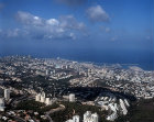 Haifa, aerial view looking west south west