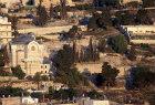Israel, Jerusalem, St Peter in Gallicantu at sunrise