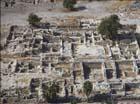 Tiberias,  aerial view of ruins, Galilee, Israel