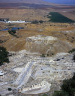 Tel and City, Beersheva, Negev, Israel