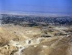Jericho, aerial view from Wadi Qilt, Herod