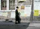 Israel, Jerusalem, Ashkenazi Jew in the Mea Shearim neighbourhood