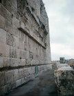 Israel, Jerusalem, Wall of Temple Area showing Robinson