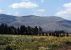 Israel, view of the Gilboa Range