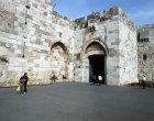 Israel, Jerusalem, Jaffa Gate in the Western City  Wall
